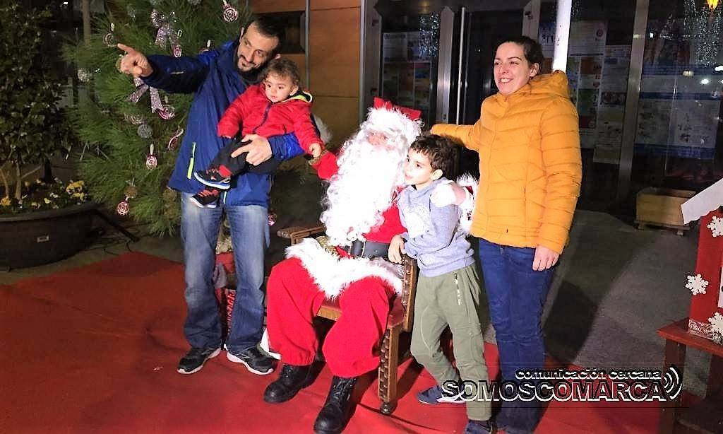 Papá Noel. O Barco