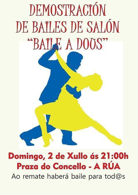 Demostración Bailes de Salón.  A Rúa @ Plaza del Concello, A Rúa