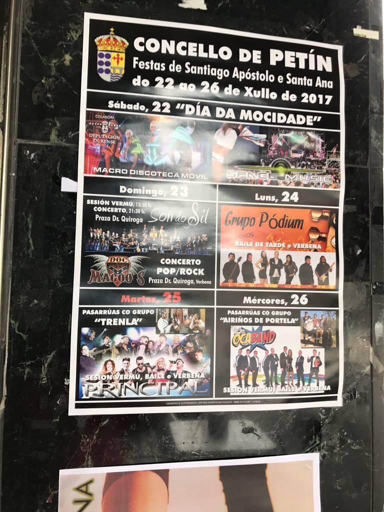 Festas de Santiago Apóstol e Santa Ana de Petín @ Petín