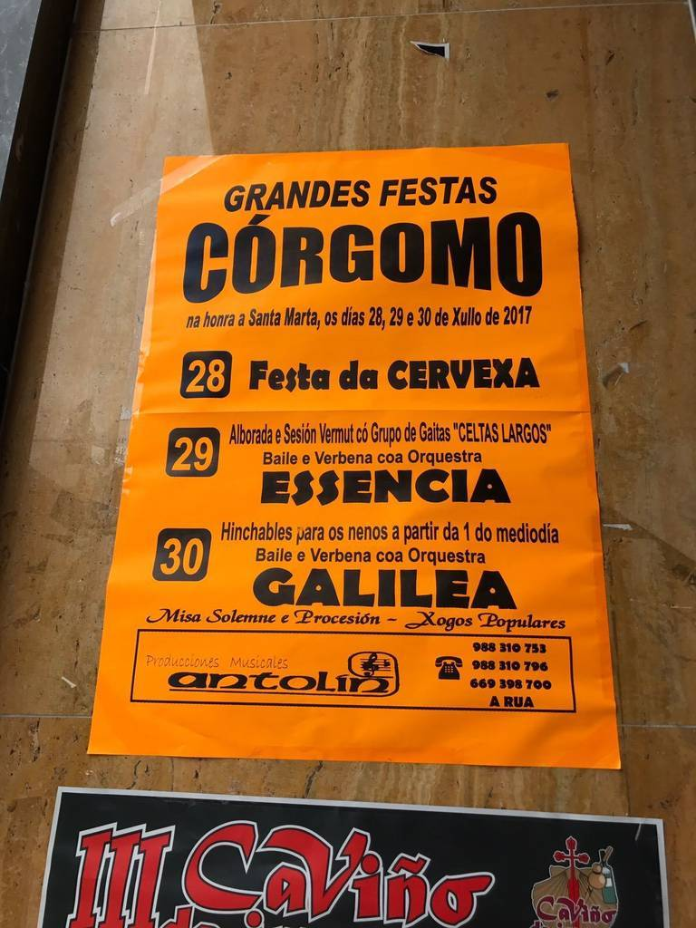 Grandes Festas de Córgomo @ Córgomo