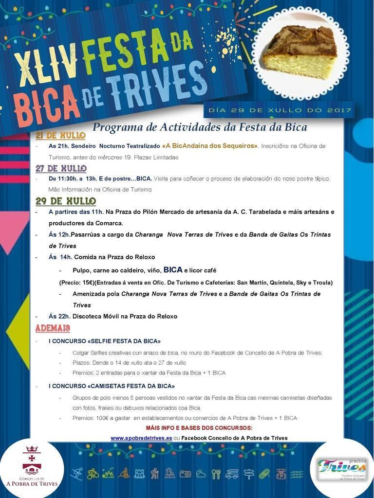 Fiesta da Bica. Trives @ Plaza del Reloj, Trives