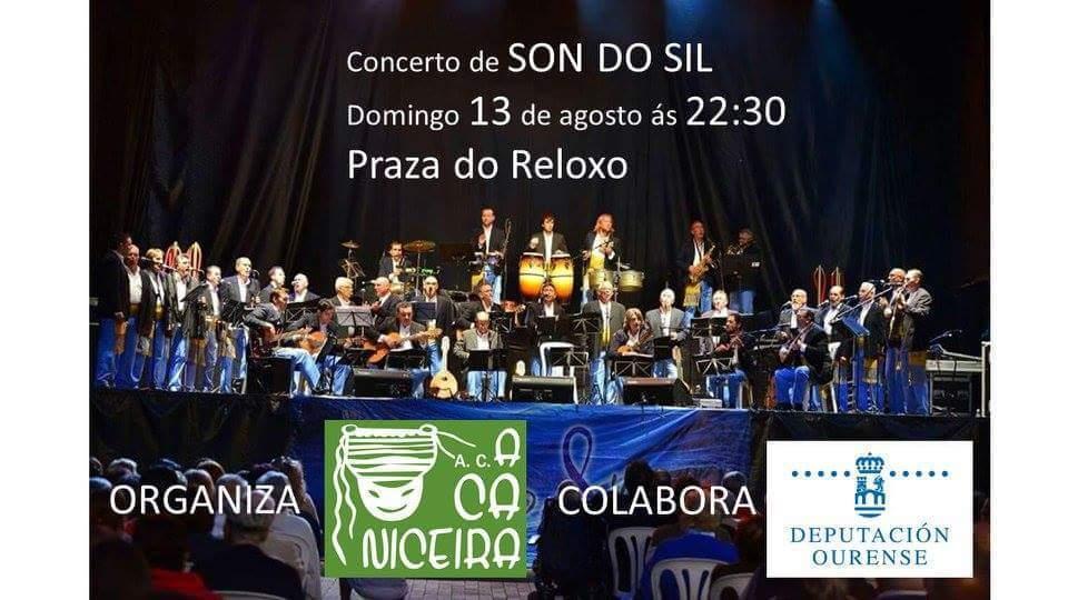 Concierto de Son do Sil @ Praza do Reloxo  | A Pobra de Trives | Galicia | España