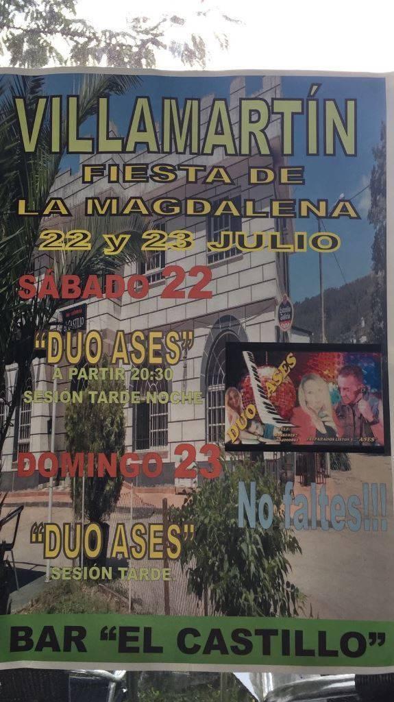 Fiestas de la Magdalena en el Bar El Castillo @ Bar El Castillo | Galicia | España