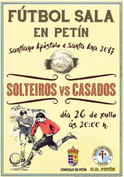 Solteiros vs Casados nas Festas de Petín @ Petín | Galicia | España