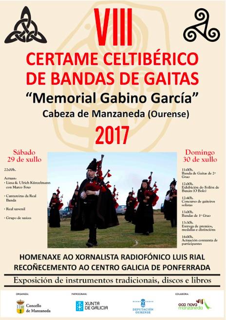 VIII Certame Celtibérico de Gaitas «Memorial Gabino García» @ Cabeza de Manzaneda | Galicia | España