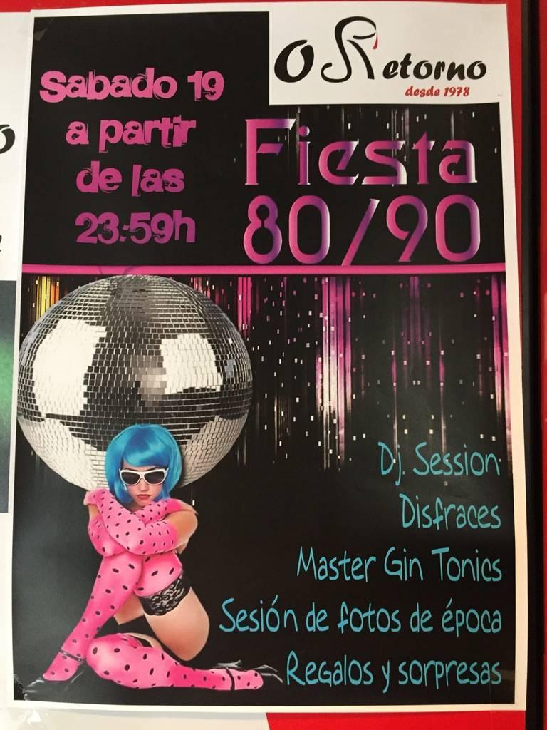 O Retorno conmemora los años 80/90 @ Galicia | España