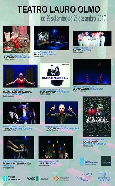 Teatro O Barco. Calypso-Voadora @ Teatro Lauro Olmo | El Barco de Valdeorras | Galicia | España