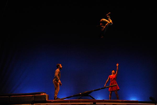 Cirk About it: El Apartamento. O Barco @ Teatro Lauro Olmo, O Barco