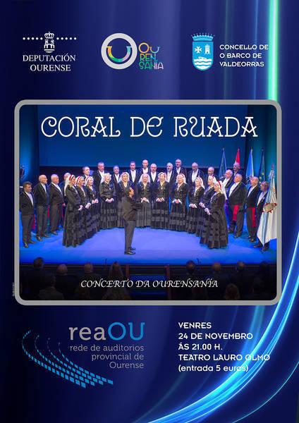 Coral Ruada. O Barco @ Teatro Lauro Olmo, O Barco