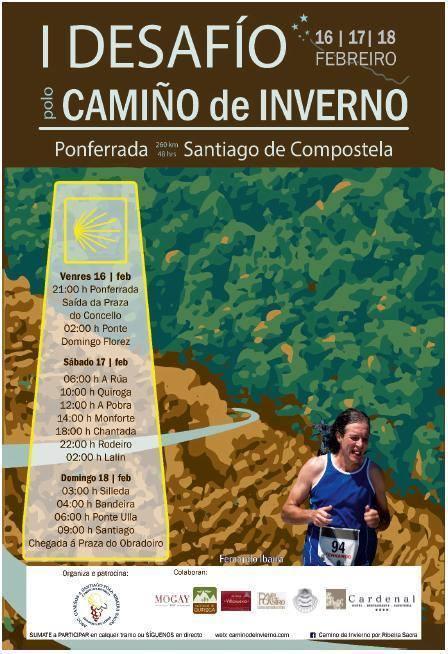 I Desafío por el Camino de Invierno entre Ponferrada a Santiago de Compostela