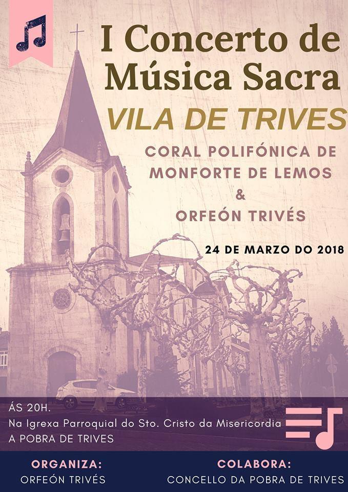 Concierto Música Sacra. Trives @ Iglesia Santo Cristo de la Misericordia. Trives