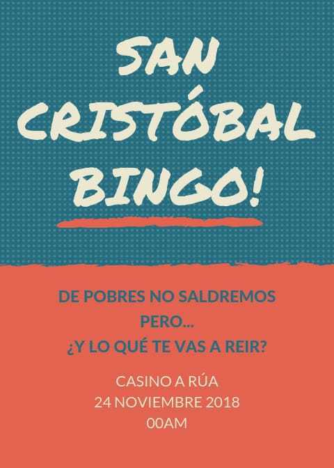 Bingo. A Rúa @ Casino A Rúa   A Rúa   Galicia   España
