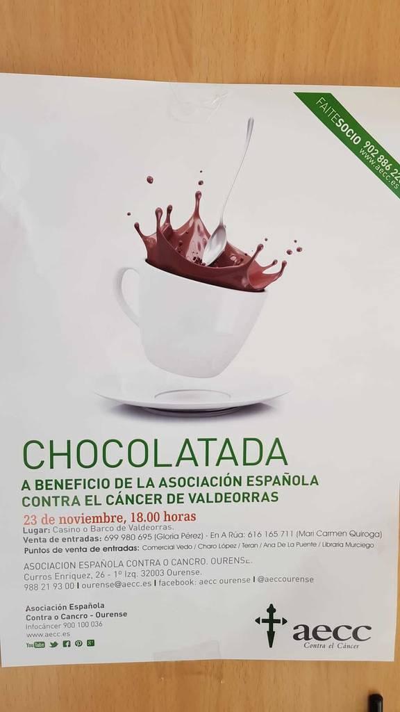 Chocolatada. AECC