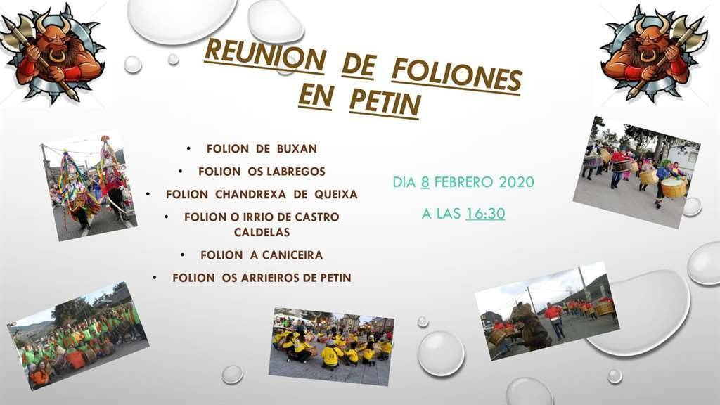 Folión. Petín @ Petín